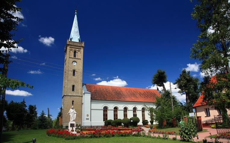 Kirche in Nikolaiken